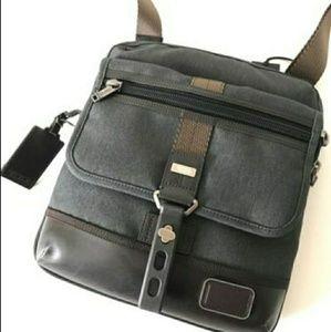 Tumi Brown Leather Bag